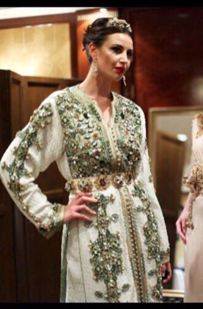 Coulisses Défilé Création Caftans Haute Couture Fouzia Naciri 2
