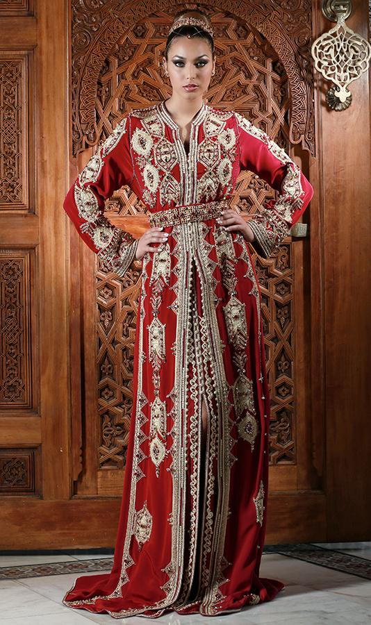 Caftan Haute Couture Fouzia Naciri - Création Tradition et Modernité 1