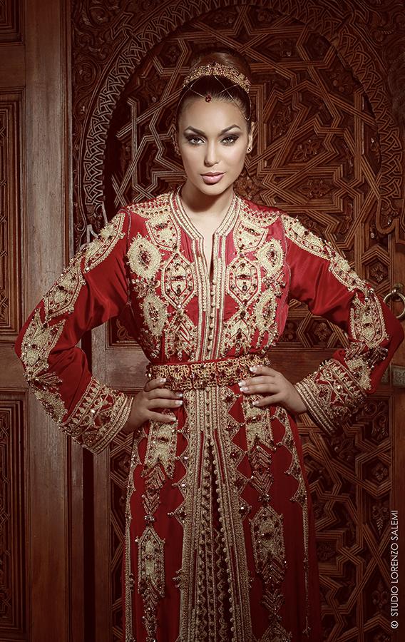 Caftan Haute Couture Fouzia Naciri - Création Tradition et Modernité 3