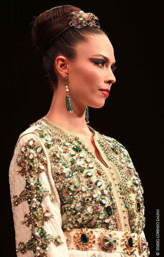 Caftan Haute Couture Fouzia Naciri - Défilé
