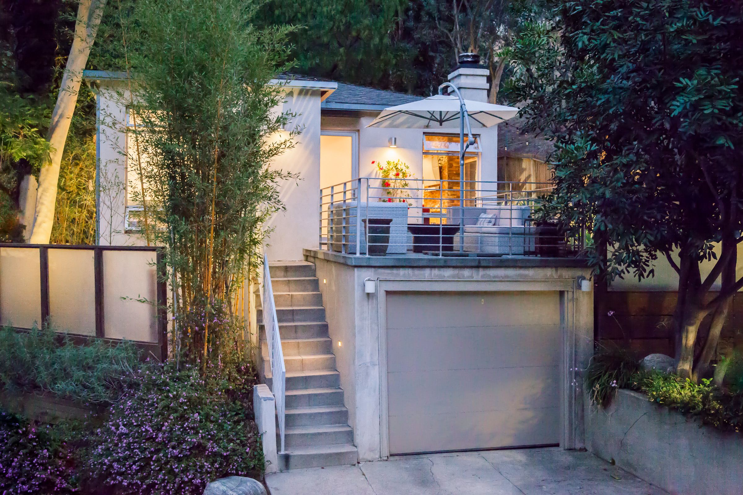 2050 stanley hills drive-25 front view at twilight.jpg