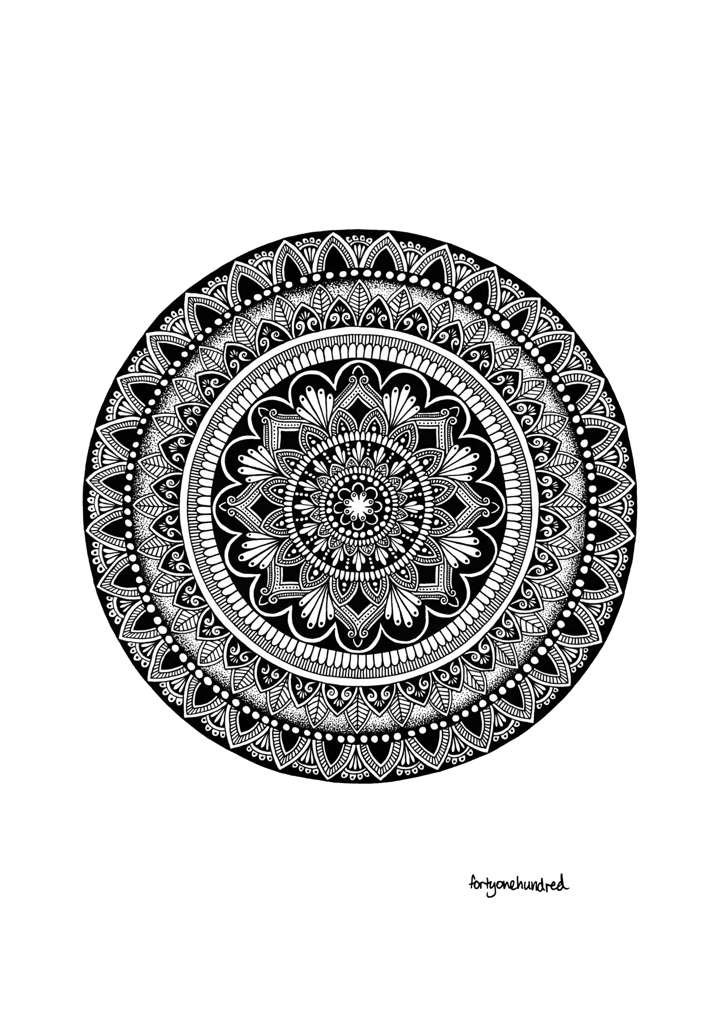 Meditation Mandala by fortyonehundred.jpg