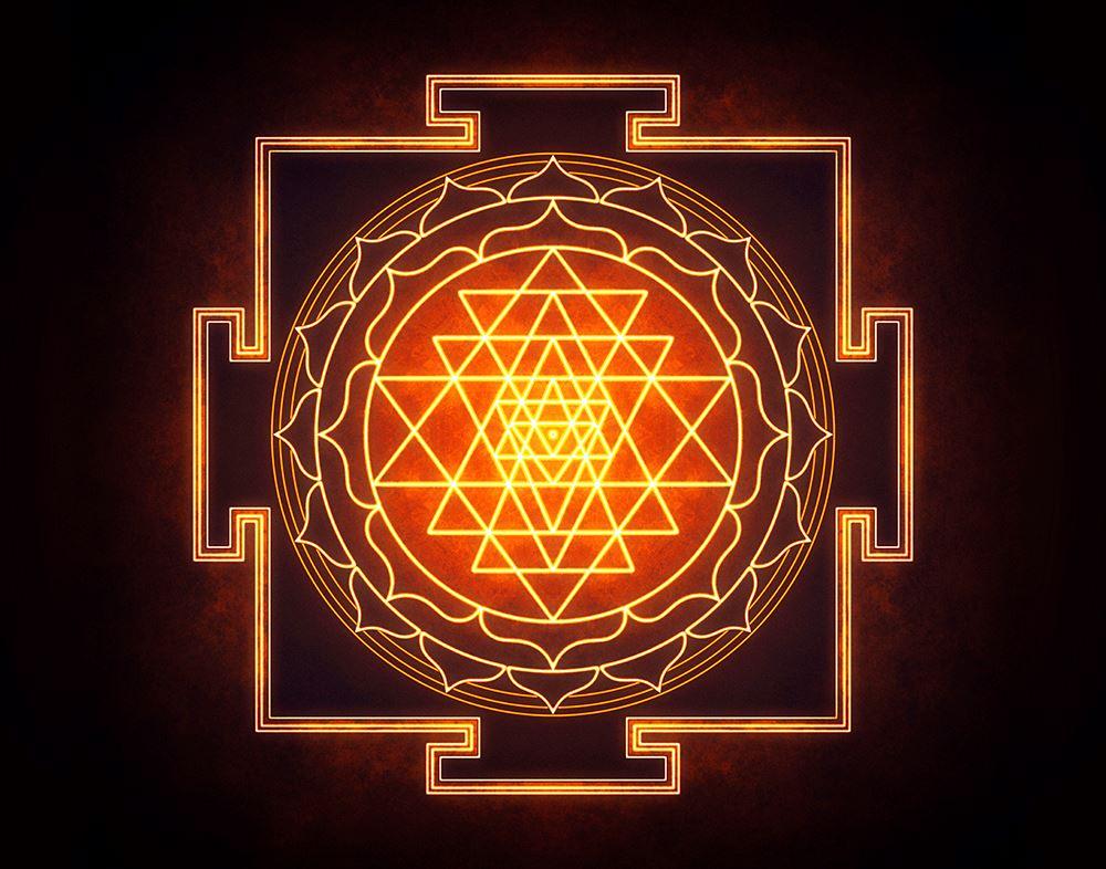 Hindu Sri Yantra