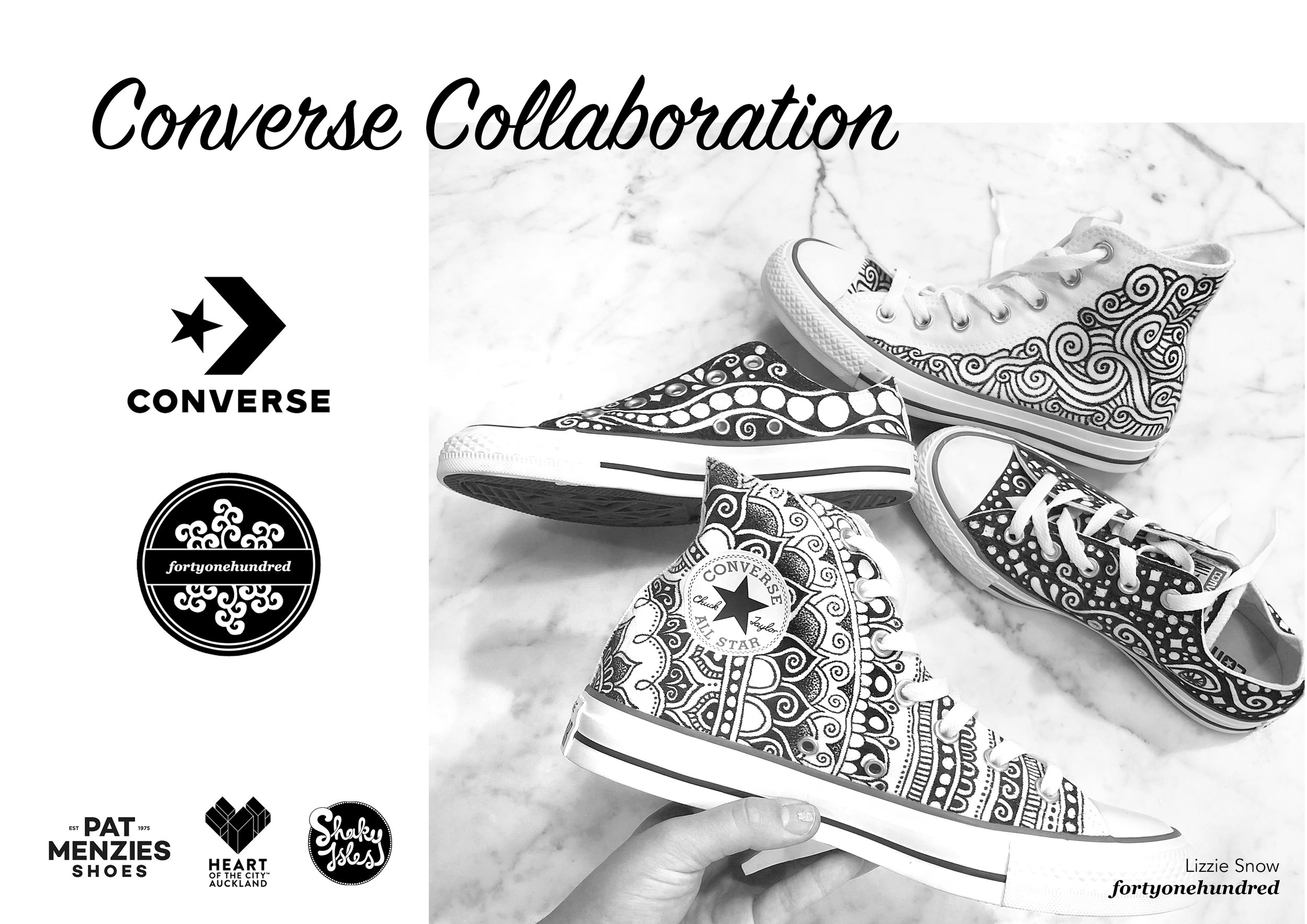 Converse x fortyonehundred