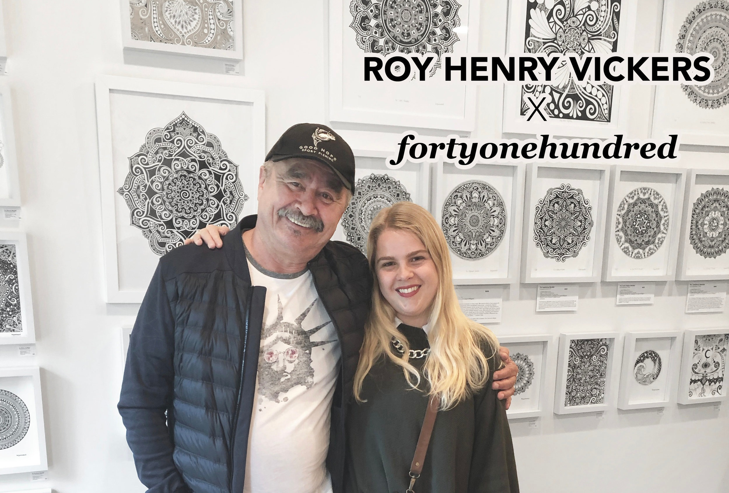 Roy Henry Vickers x fortyonehundred