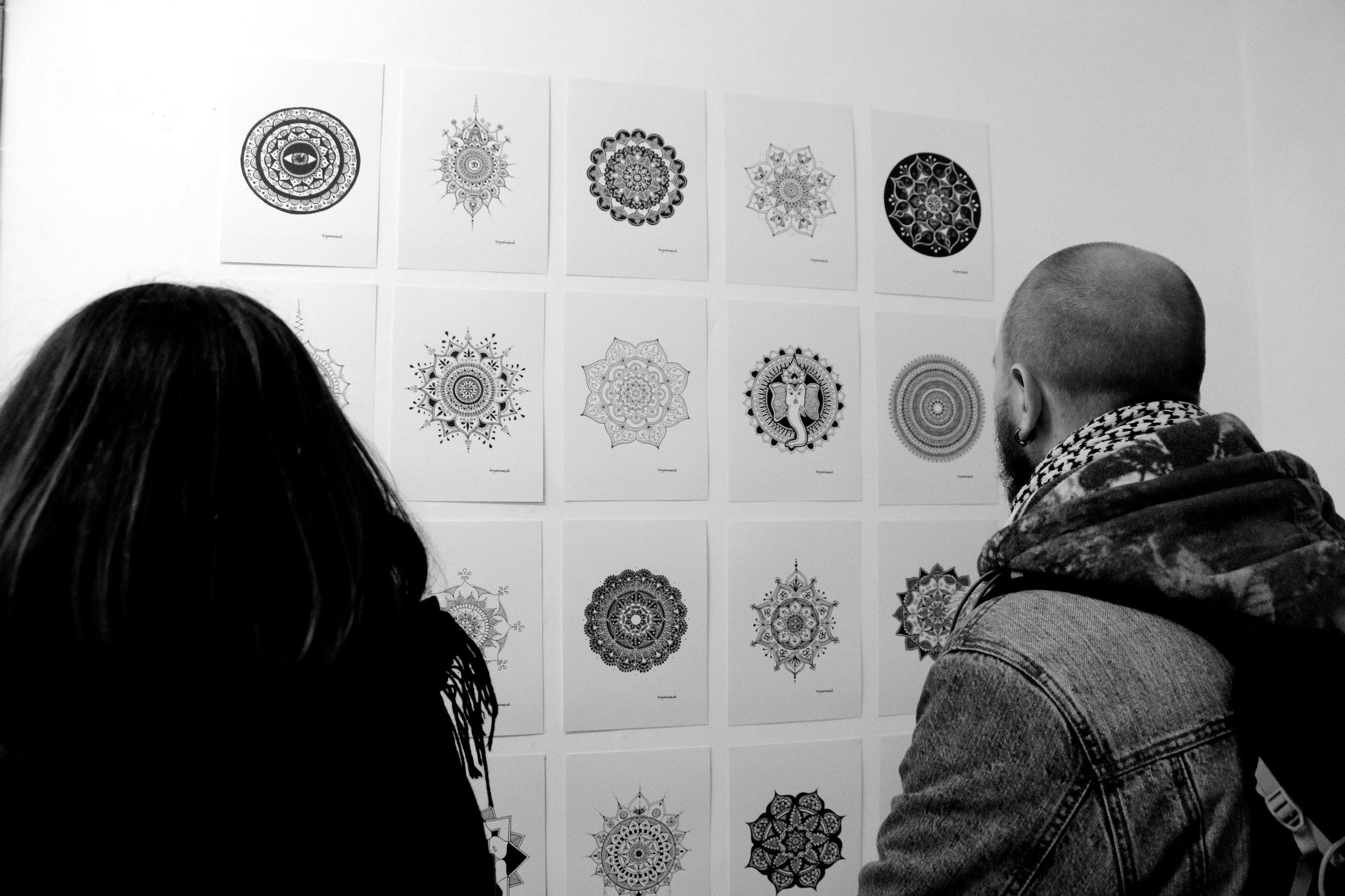fortyonehundred-1st-generation-mandalas-at-exhibition