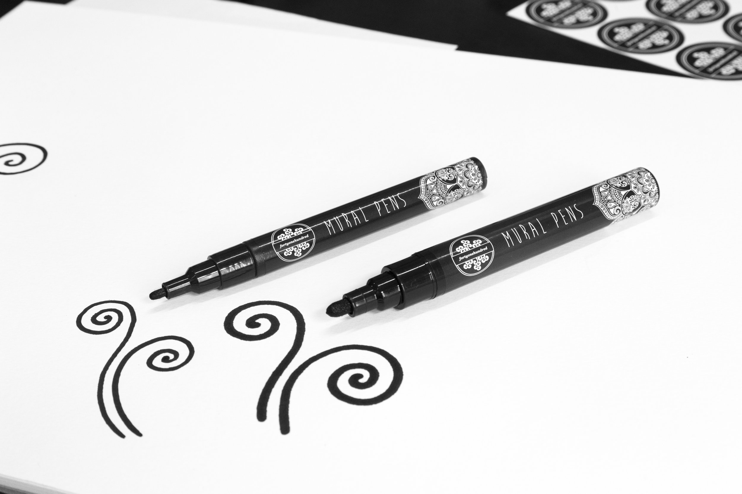 Mural Pens by fortyonehundred