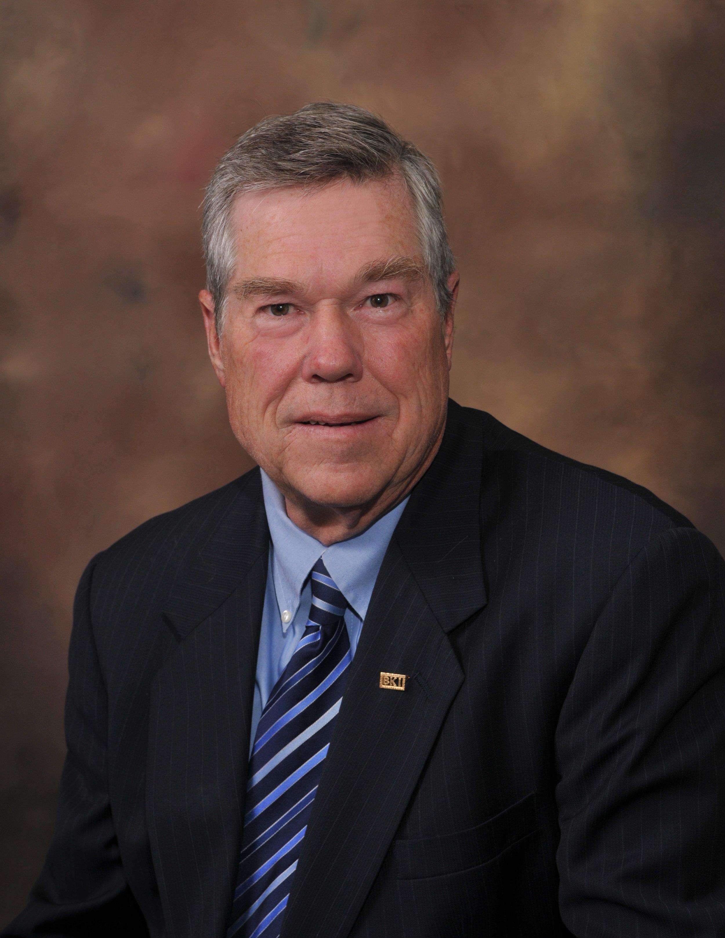 """William R. """"Biff"""" Burk, III, PE   Chairman of the Board"""