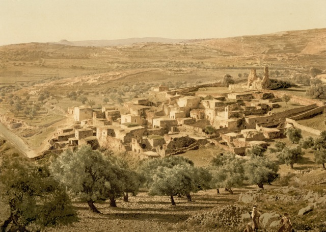 General view, Bethany, Holy Land 1880.jpg