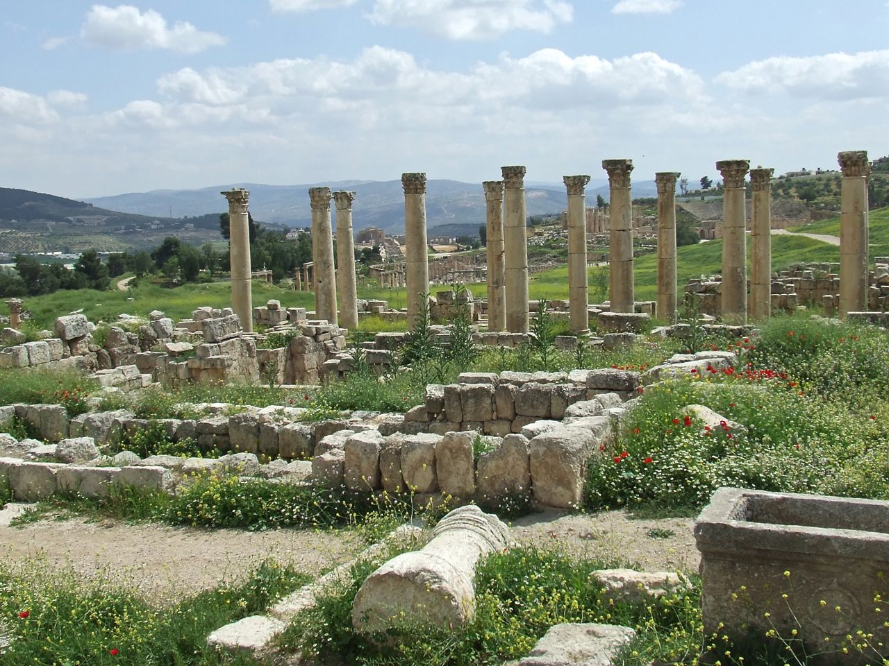 Jerash Archaeological Site, Jordan