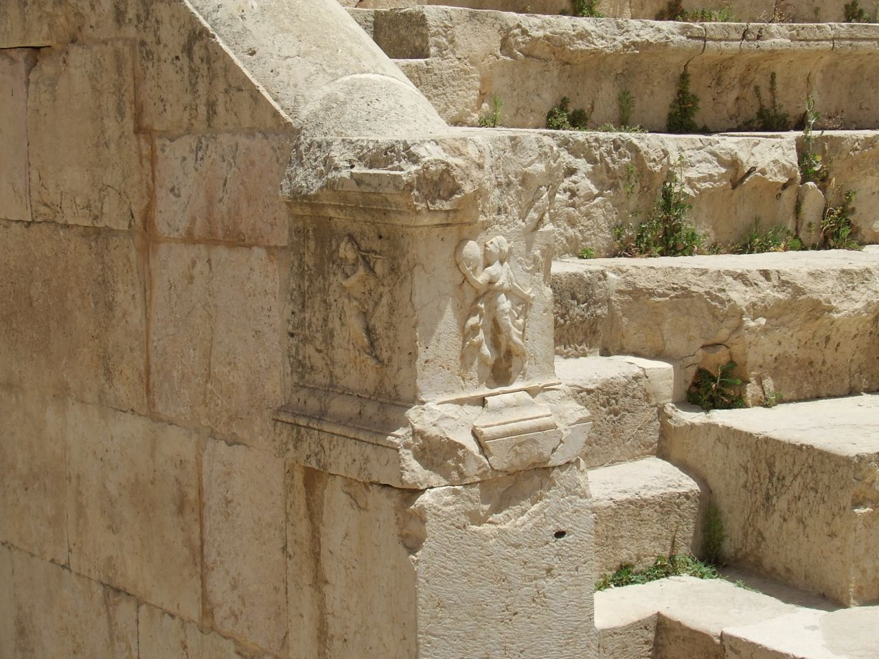 Jerash Stone Detail, Jordan