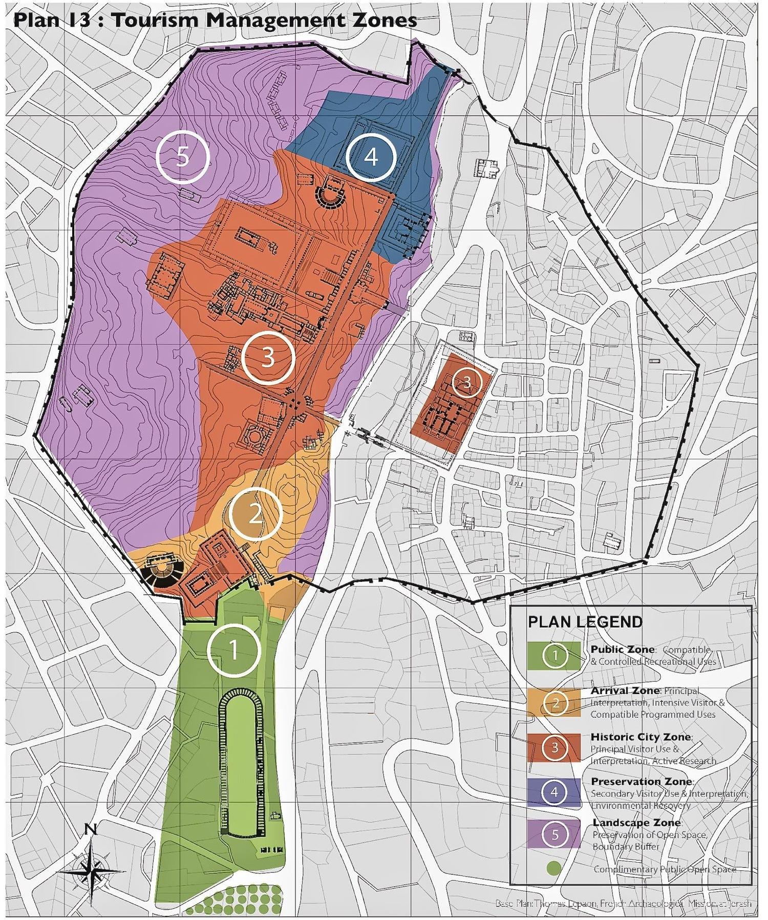 Tourism Zoning Plan, Jerash, Jordan