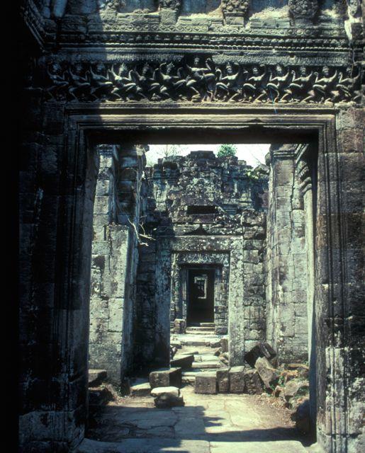 Apsara Lintol, Preah Khan, Angkor, Cambodia
