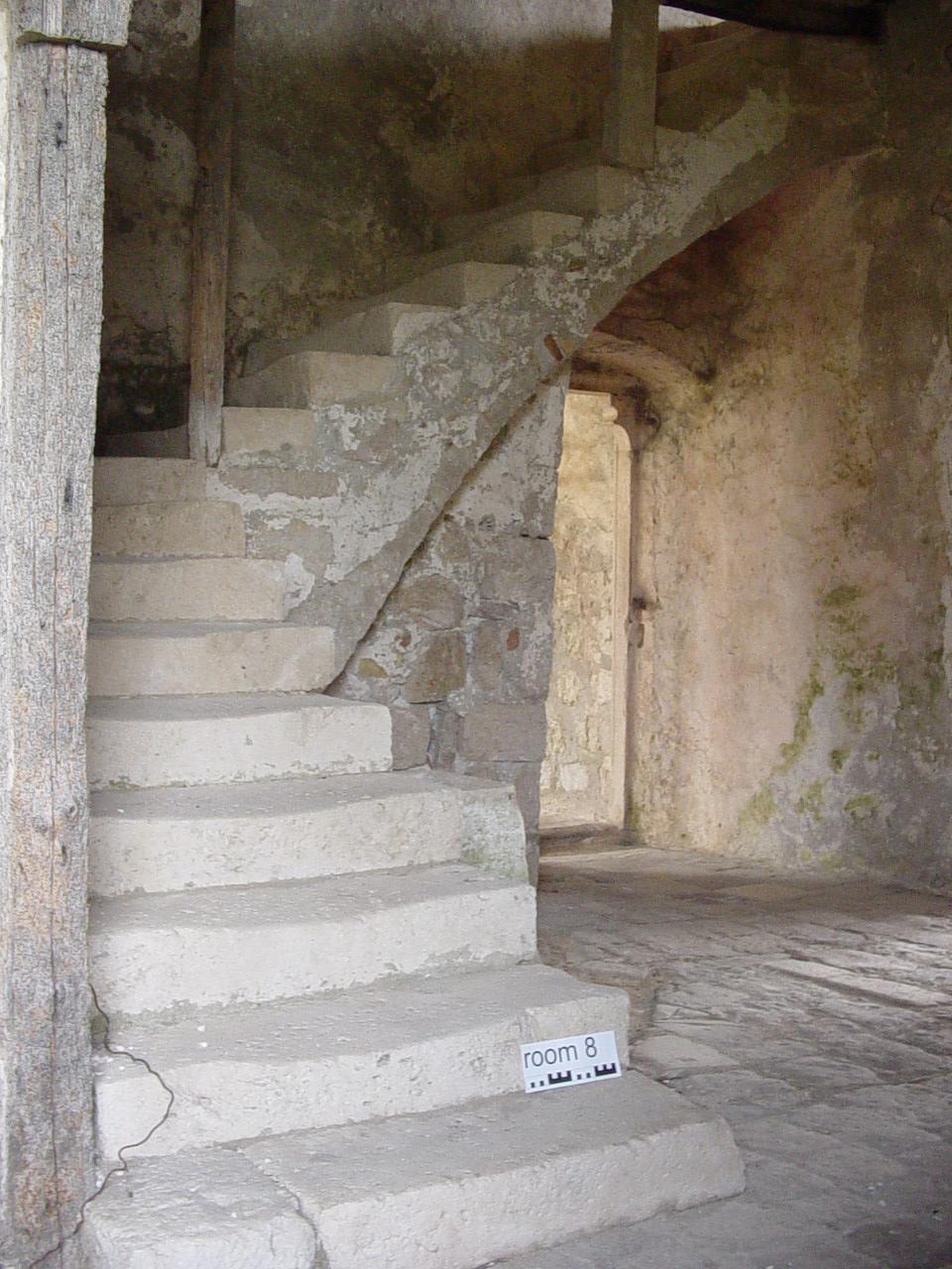 Stair, Monastery Complex, Lopud Island, Croatia