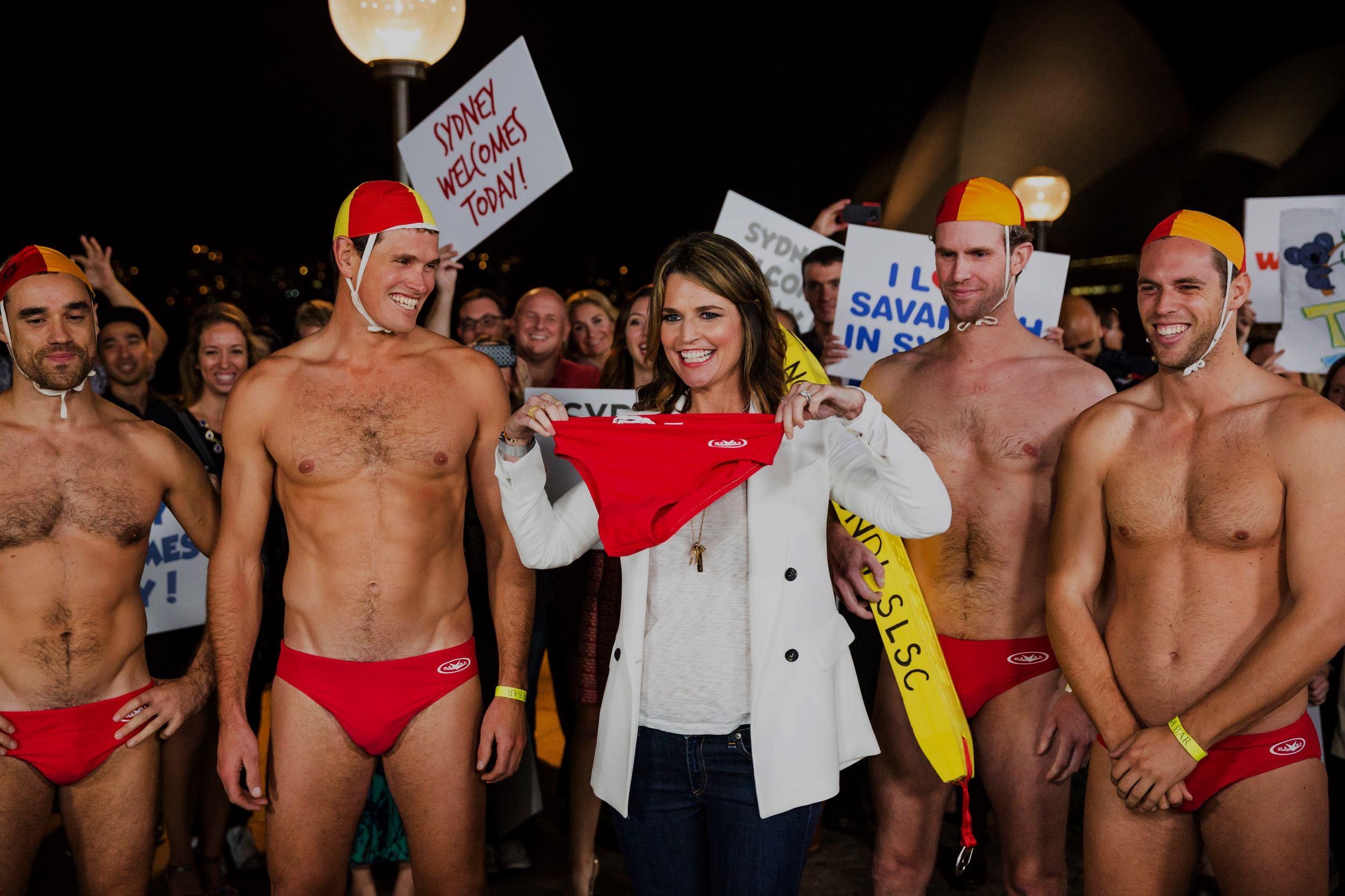 NORTH BONDI SLSC  We worked with USA Today and Destination NSW to promote tourism and surf safety to over five million viewers – whilst wearing 'budgie smugglers'!