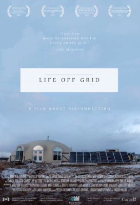 "Why do people choose to live in homes that are not connected – by design or by default – to established electricity or gas networks?  It's a question that we have asked here on One Step many times. But for Phillip Vannini, producer of the Canadian 2015 documentary Life Off Grid, it's a question he asked at least 200 times, between 2011 and 2013, as he travelled to every province and territory in the country visiting ""off-gridders"" in their homes.  For screening times go to https://tugg.com.au/life-off-grid/"