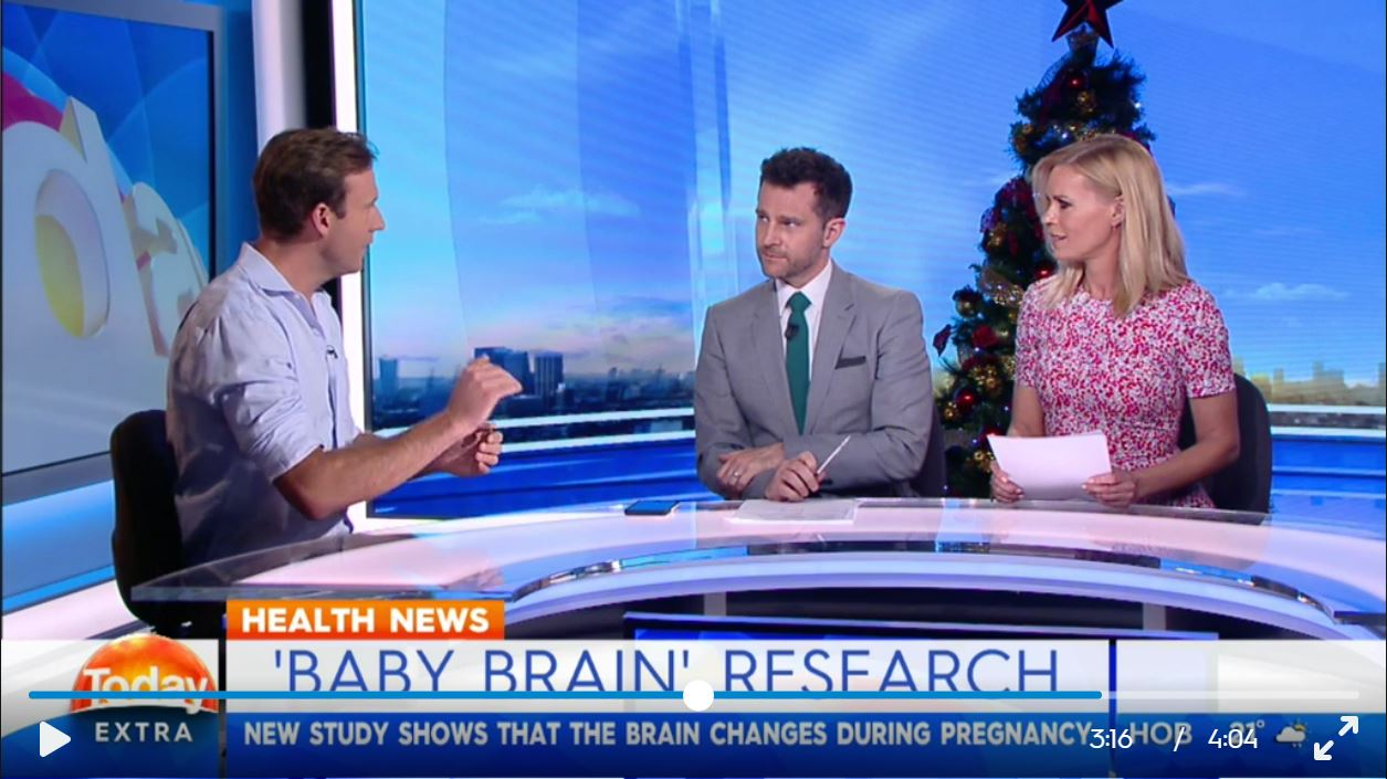 TODAY Extra chat with Doctor Zac Turner about the new research proving 'baby brain' could be a real thing.
