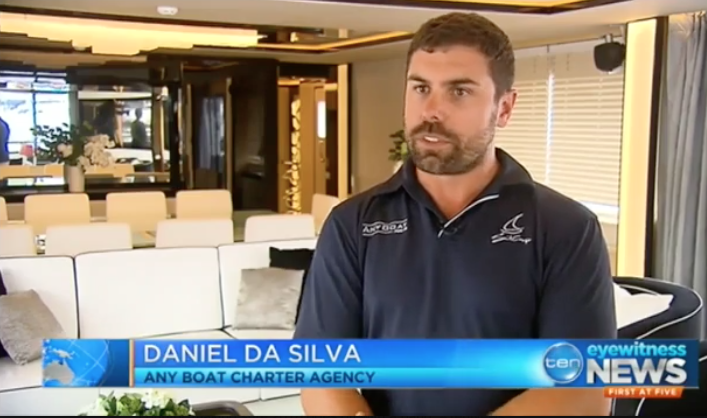 """With a spare $110,000, you could be watching the fireworks onboard one of the most elegant luxury charter cruiser, with the best view of Australia's greatest New Year's entertainment. Daniel Da Silva explains that """"there is no better place to be than on Sydney Harbour... Being onboard a luxury yacht is as good as it gets."""""""