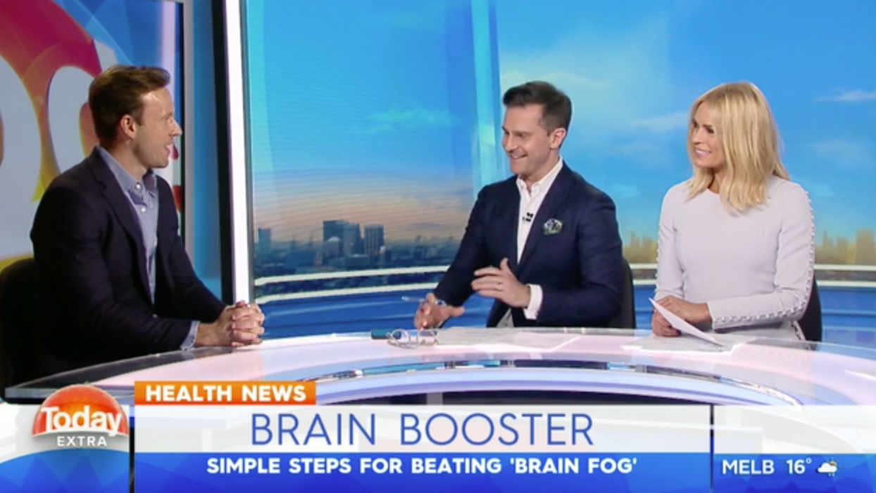 TODAY Extra chat with Dr Zac Turner about brain fog- those moments everyone has when we've walked into a room and forgotten why we've gone in there in the first place.
