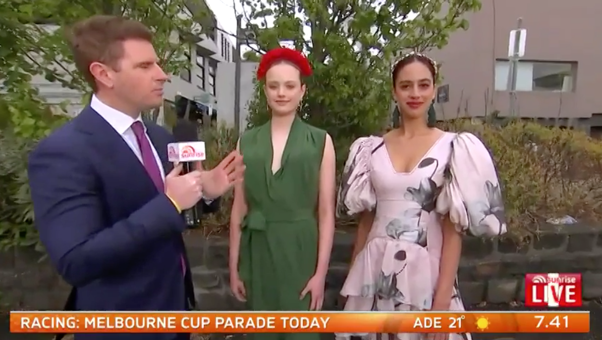 Sam Mac critiques fashion for the Melbourne Cup,while getting top tips from Chapel Street's resident style expert