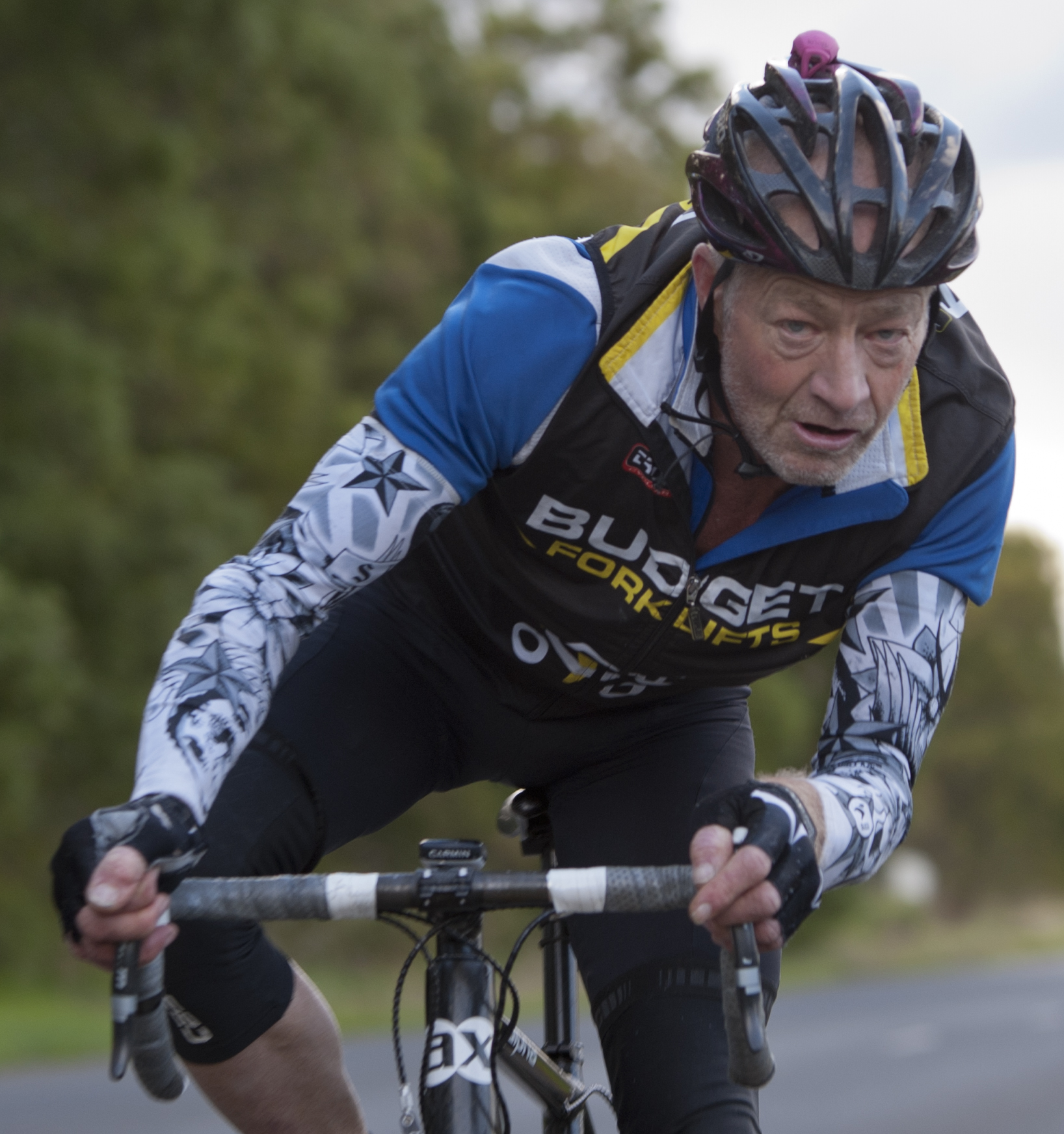 You've seen them before 6am on the roads in Darwin, MAMILs are everywhere and Nick Bird the Director of MAMIL the documentary is here to talk about them.