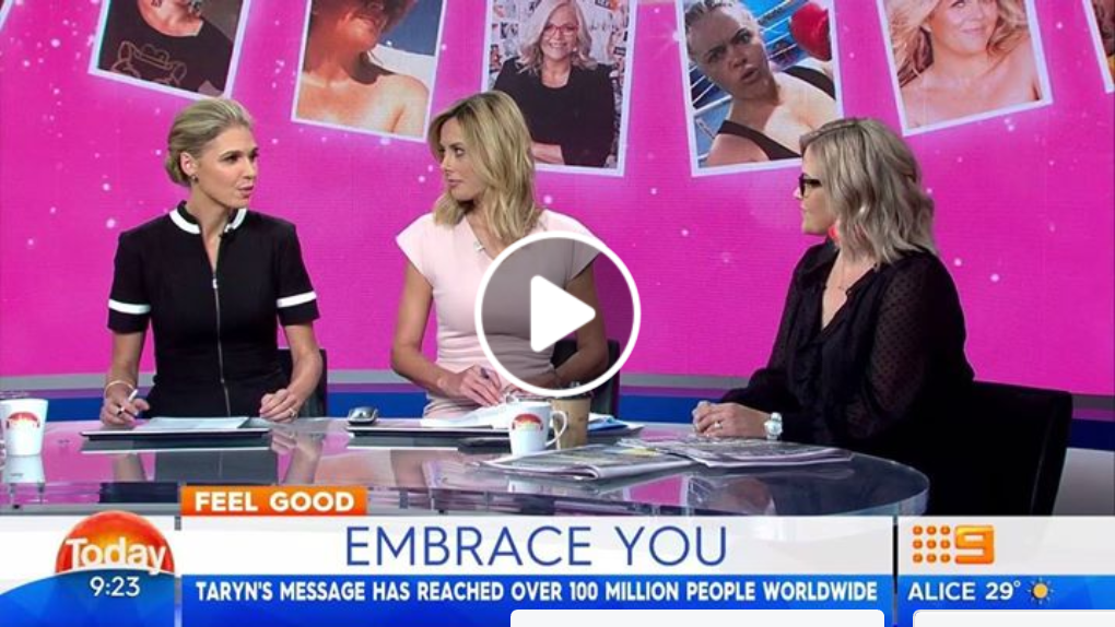 Five years ago Taryn Brumfitt went viral bearing all to encourage women to appreciate their bodies. Now Taryn's message has reached over 100 million people worldwide.  #9Today