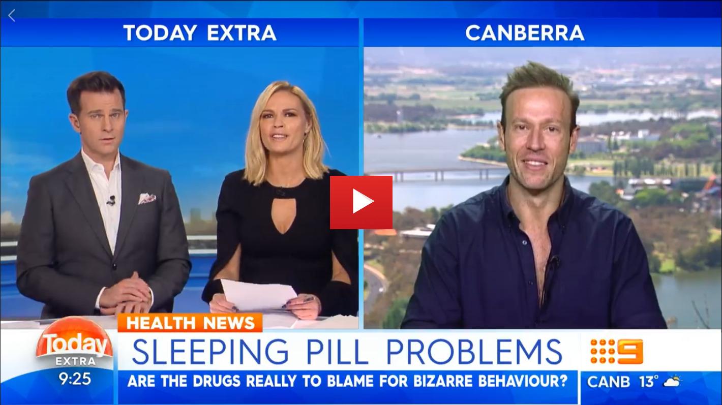 Can bizarre behaviour be blamed on sleeping pills?