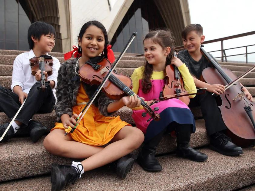 YOU might notice that the buskers around the city seem to be a little smaller than usual on Tuesday — but you will certainly notice they are amazingly talented.  The elite Sydney Youth Orchestras will swap the concert halls for the city streets as they perform 12 hours of live music at Martin Place, Circular Quay and Central Station from 7.30am, for an expected 600,000 passers-by.  It will be a rare chance to enjoy Australia's leading youth orchestra, which in August performed the gruelling 90-minute Bruckner Symphony No.8 that makes professional musicians sweat.