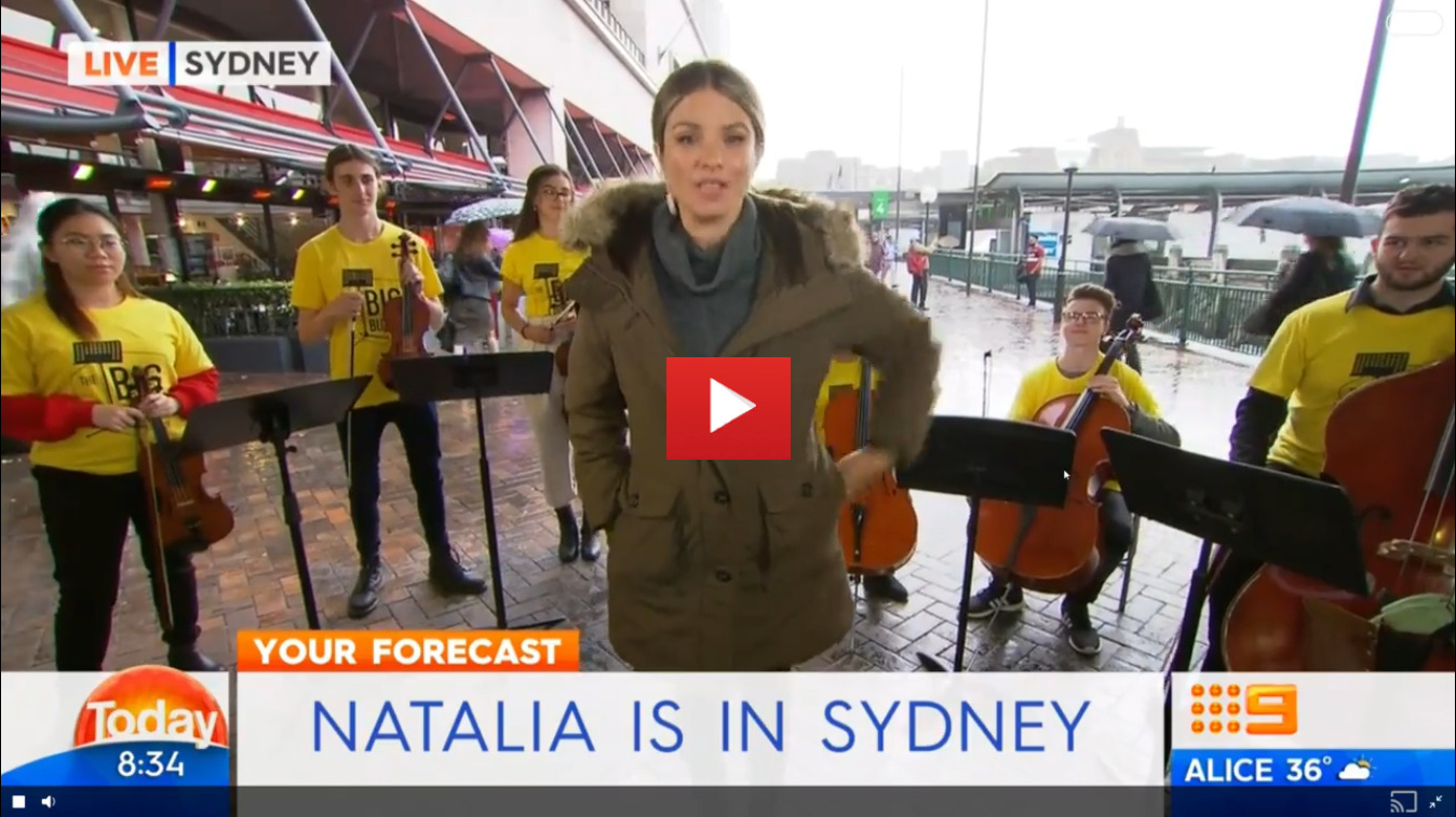 Natalia Cooper is in Sydney for the Big Busk!