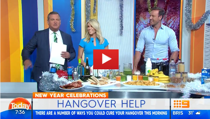 If you're feeling a little worse for wear this morning, Dr Zac Turner is here to tell us how to nurse that hangover.  # 9Today