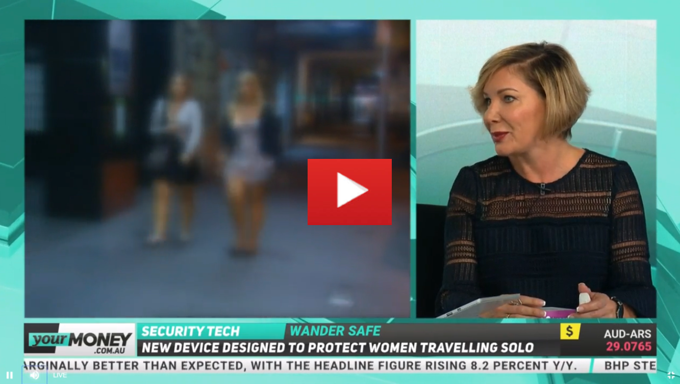WanderSafe is a new device, designed to protect women who are travelling solo.  Travel and safety entrepreneur, Stephenie Rodriguez, was invited onto YourMoney to discuss her latest invention.