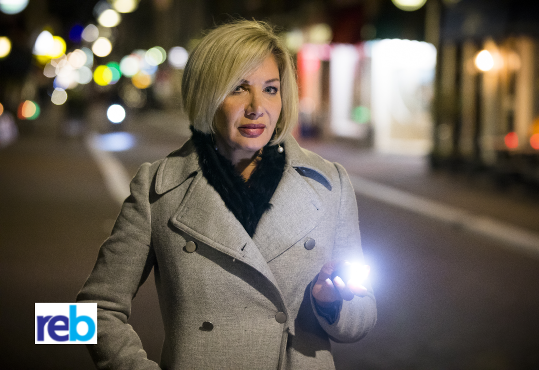 """An employee safety device that promises to de-escalate dangerous situations has found its way to the market, something that might be useful for property managers who feel vulnerable during property inspections as an additional safety tool.  WanderSafe's beacon safety device and app is a new safety protocol that works in tandem to keep people safer when they are in potentially vulnerable situations.  Inventor Stephenie Rodriguez said that the non-violent device has four features that are designed to disorient and scare an assailant, giving somebody enough time to save their life.  """"When pressed, the activation button sends off an SOS message and GPS coordinates to corporate security managers, next of kin or colleagues to take action,"""" Ms Rodriguez said."""