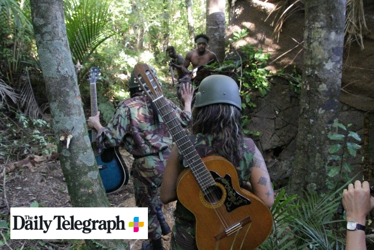 Guitars, not guns finally brokered peace in conflict ridden Bougainville, as New Zealand delivered the solution to help free the Pacific from the grip of its worst civil war.  Their approach was mocked at first but it worked and became one of the most successful peacekeeping missions ever.  The ten-year war led to 20,000 deaths and 14 failed peace attempts. During this shootings, rapes, murders and riots became the new-normal as locals clashed with outsiders.  New film  Soldiers Without Guns  tells how the NZ mission spelled the end of the war.