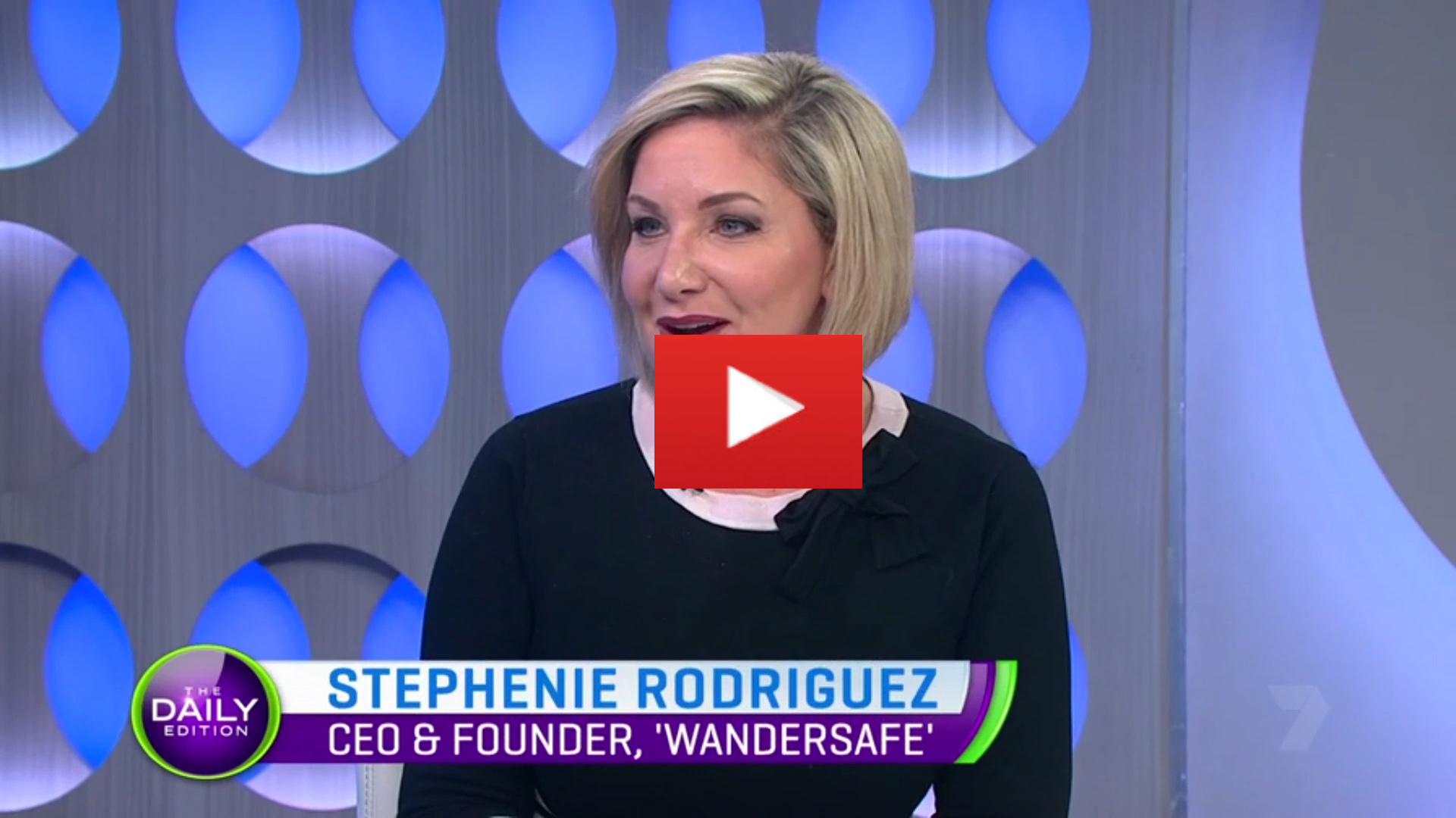 Stephenie Rodriguez chats with the Daily Edition team about recent domestic violence trends in Australia, her 'Think Tank' experience with Sir Richard Branson, her partnership with Ray Lewis and the NRL, as well as how women can keep safe using the WanderSafe safety device and app.