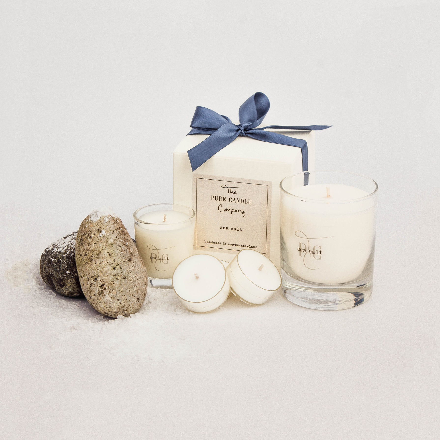 Handmade Soy Wax Candles - Inspired by nature.Handmade in our Northumberland studio.