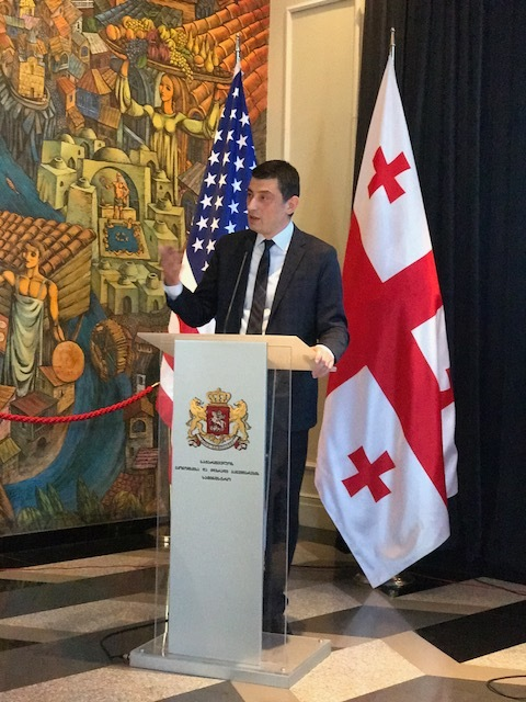 """""""As you well know, we have exceptional political relations with the USA, and it is the high time for arranging better economic ties, especially in terms of trade"""" – the  Minister of Economy and Sustainable Development of Georgia, Giorgi Gakharia,  stated to the media following the meeting with the representatives of the US Trade Mission."""