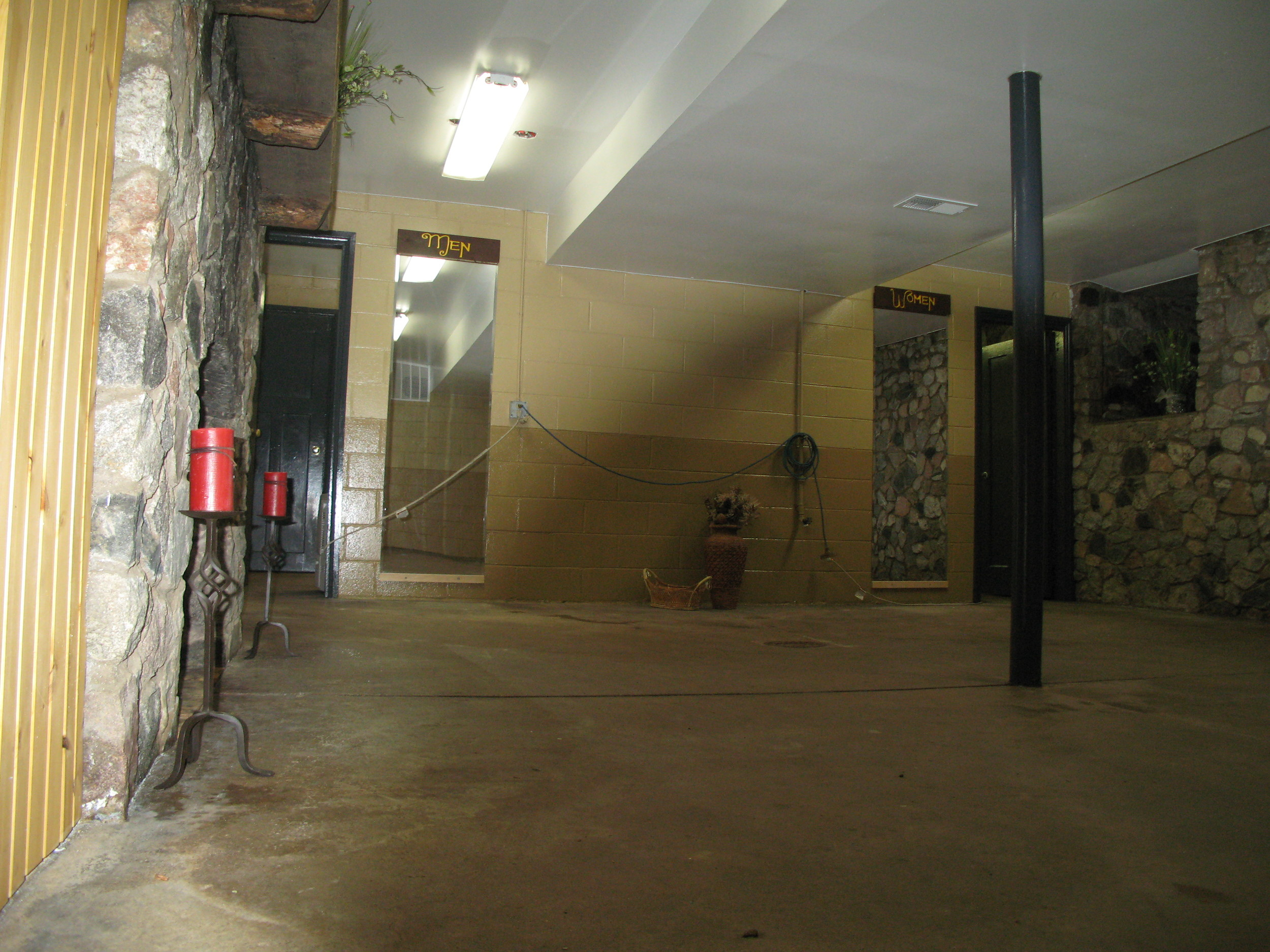 Basement After First Renovation