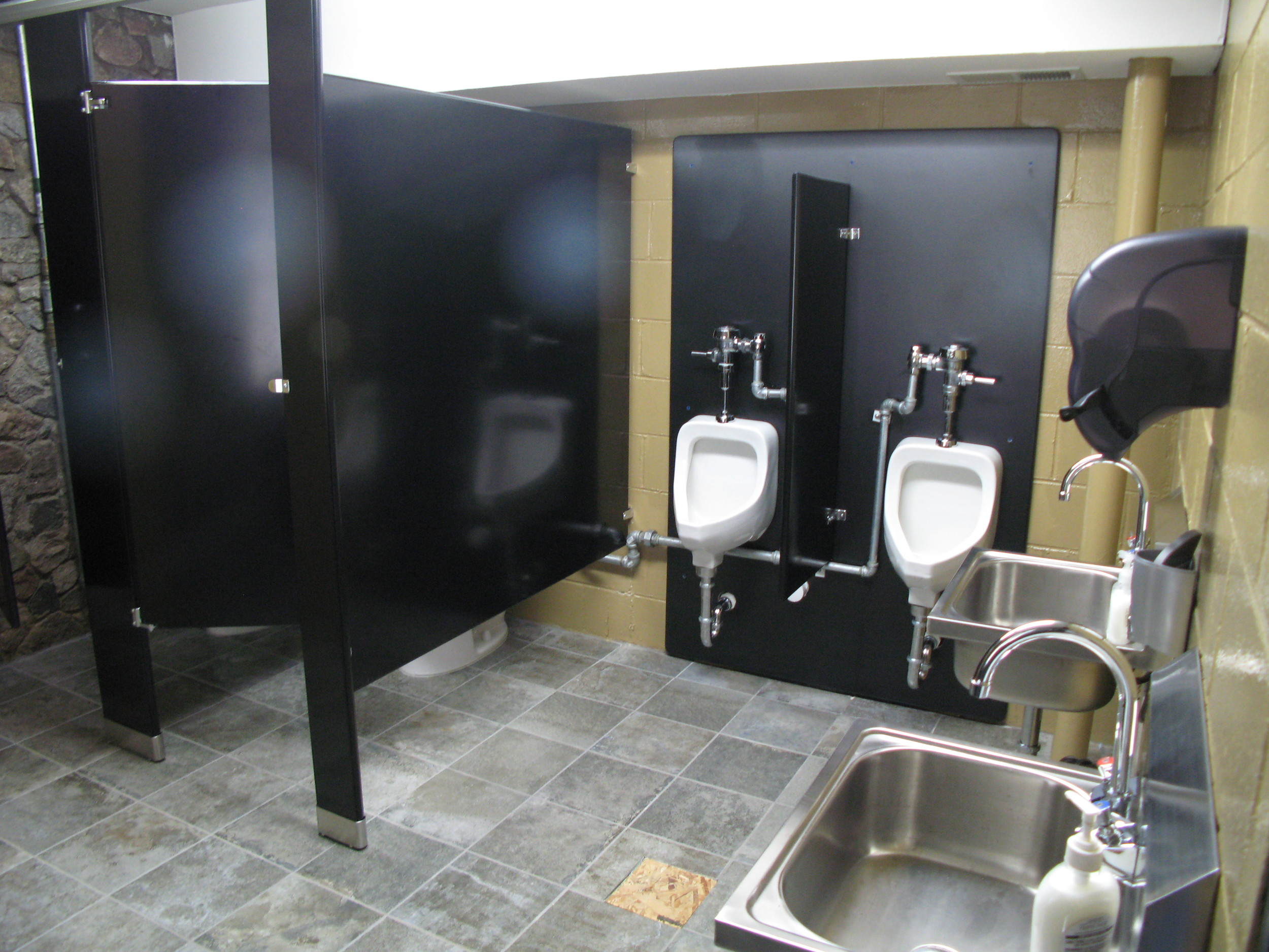 Men's Bathroom - After Final Renovation
