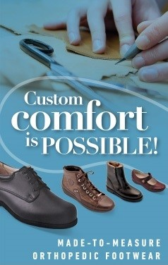 We are affiliated with industry-leader afana pouliot for your made-in-canada custom footwear.
