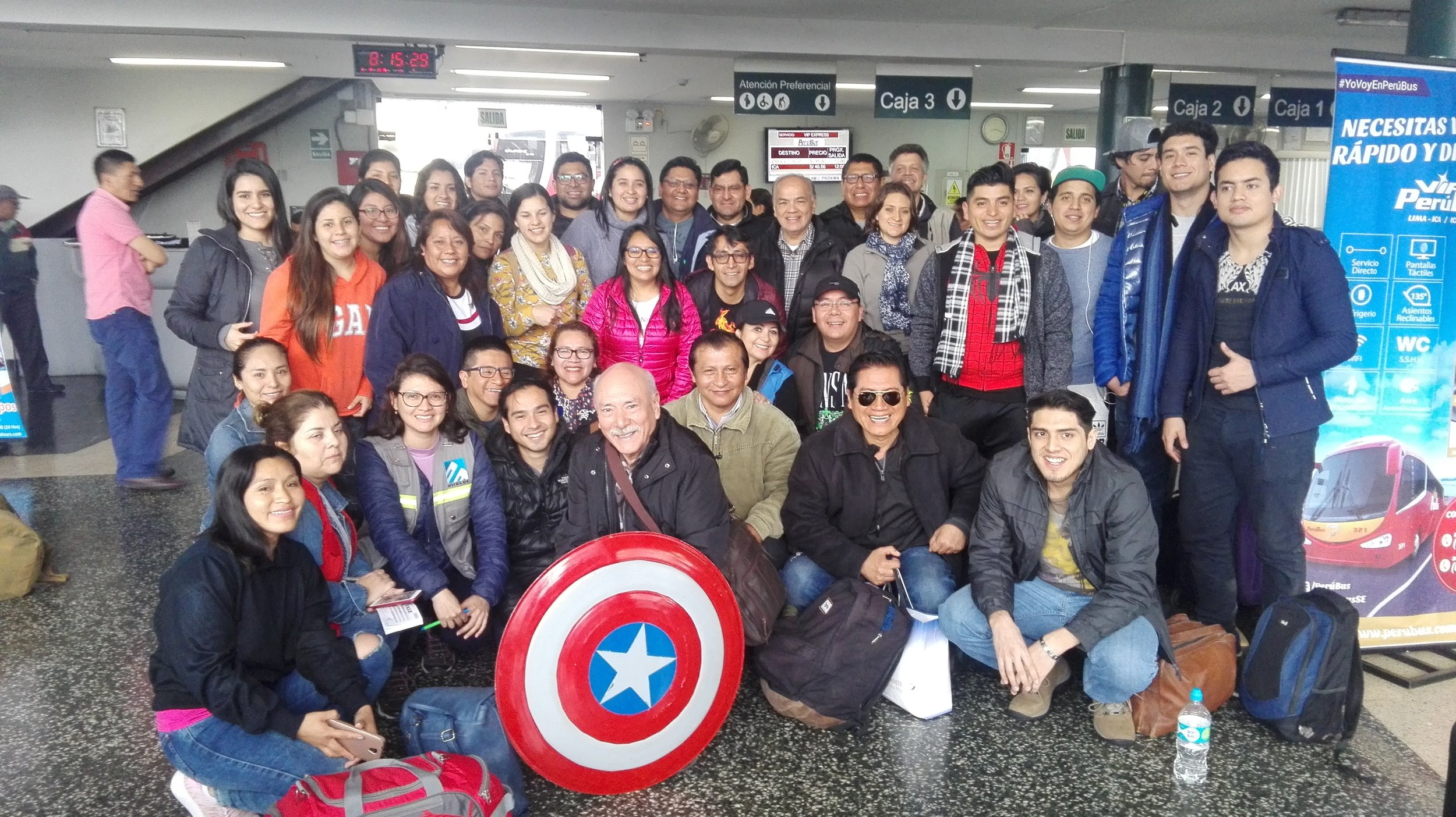 SoPA volunteers prepare to depart for the Andes to fulfill our 2018 mission goals.