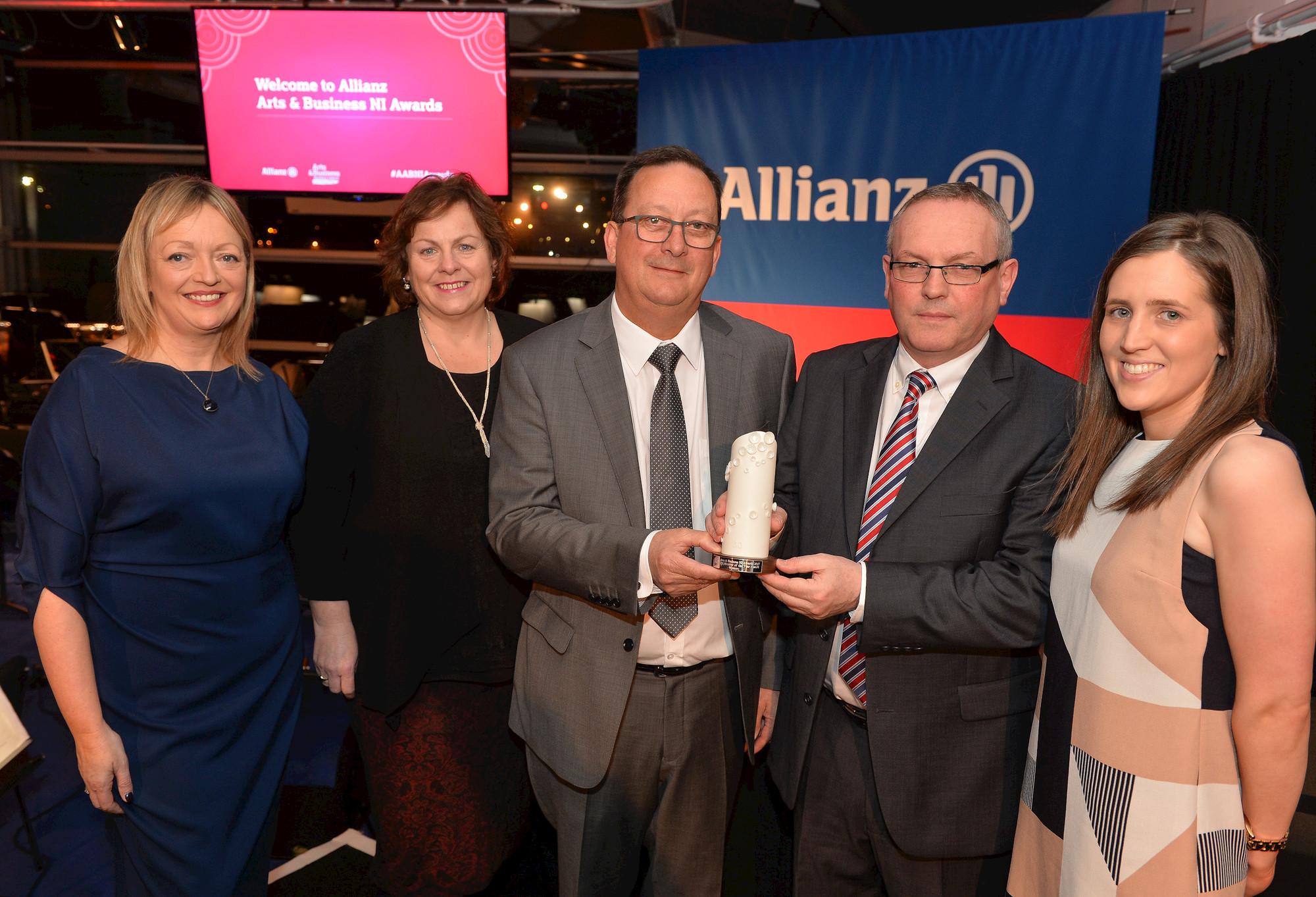 Allianz A&B NI Awards '17 - Wendy Ward, JTI, Mary and Joanne.jpg