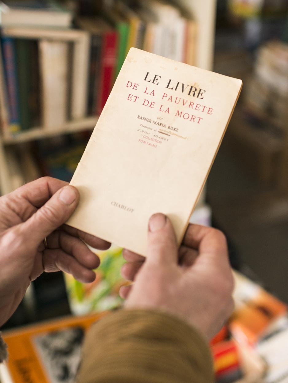 Le Livre de la Pauvreté et de la Mort, Sorel, 2014
