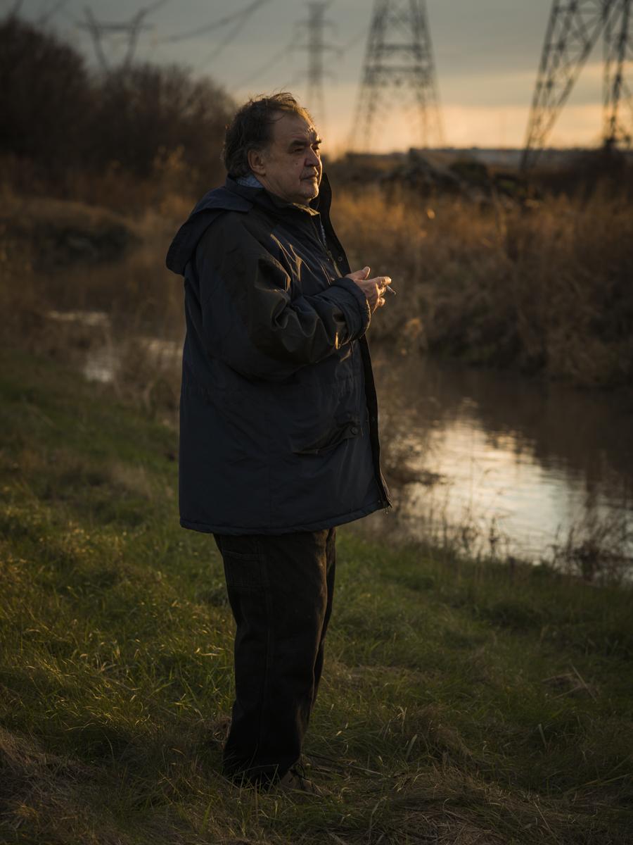 Gilles Rhéaume, entre Sorel et Montréal, 2014