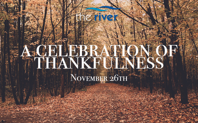 On November 26th, 2017 we had a celebration of thankfulness. This past Thursday, we all sat around dinner tables across our city and expressed our thankfulness for many different things: health, finances, our kids, our spouse. Those are all really good things! But we often miss the fact that those things are a gift from our Heavenly Father. So while it is great to be thankful for your kids, the true source of thankfulness comes from a God who loves you and has entrusted you to raise your kids. We believe that good dads give good gifts to their kids. And that is exactly what God has done for us. This morning, hear from four everyday people from The River who are celebrating thankfulness today! We hope that you are encouraged and challenged by today's message.