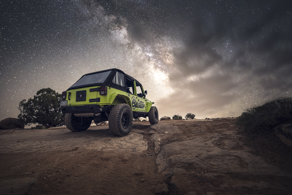 Bestop Automotive Photography