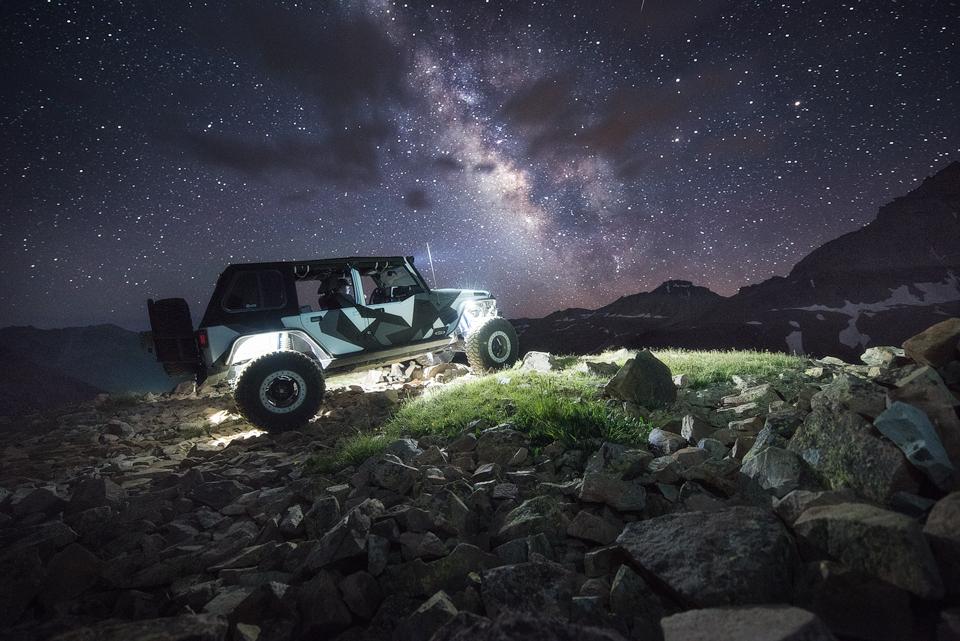 Automotive Jeep Photography in Colorado