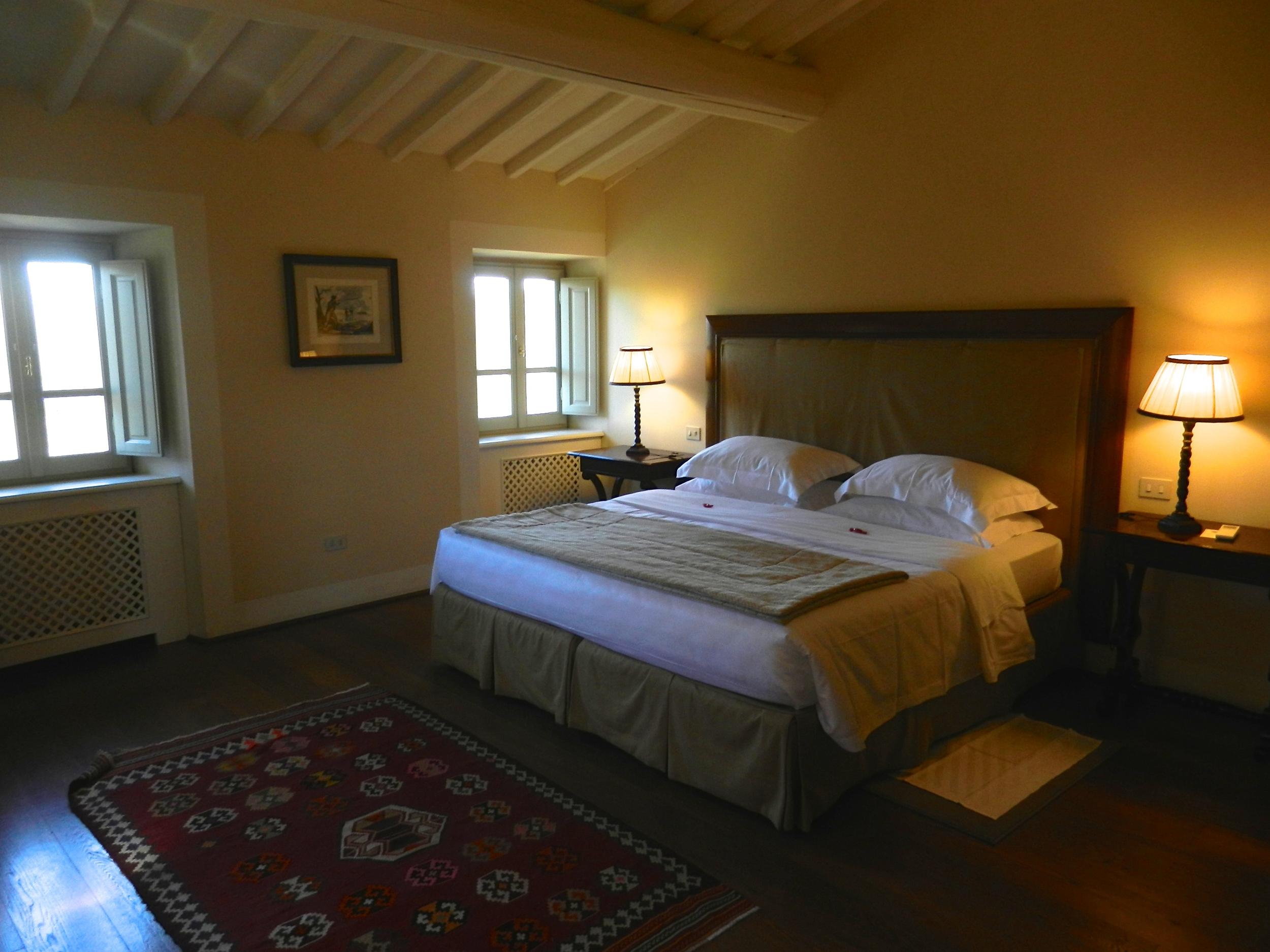Il Borro bedroom.JPG