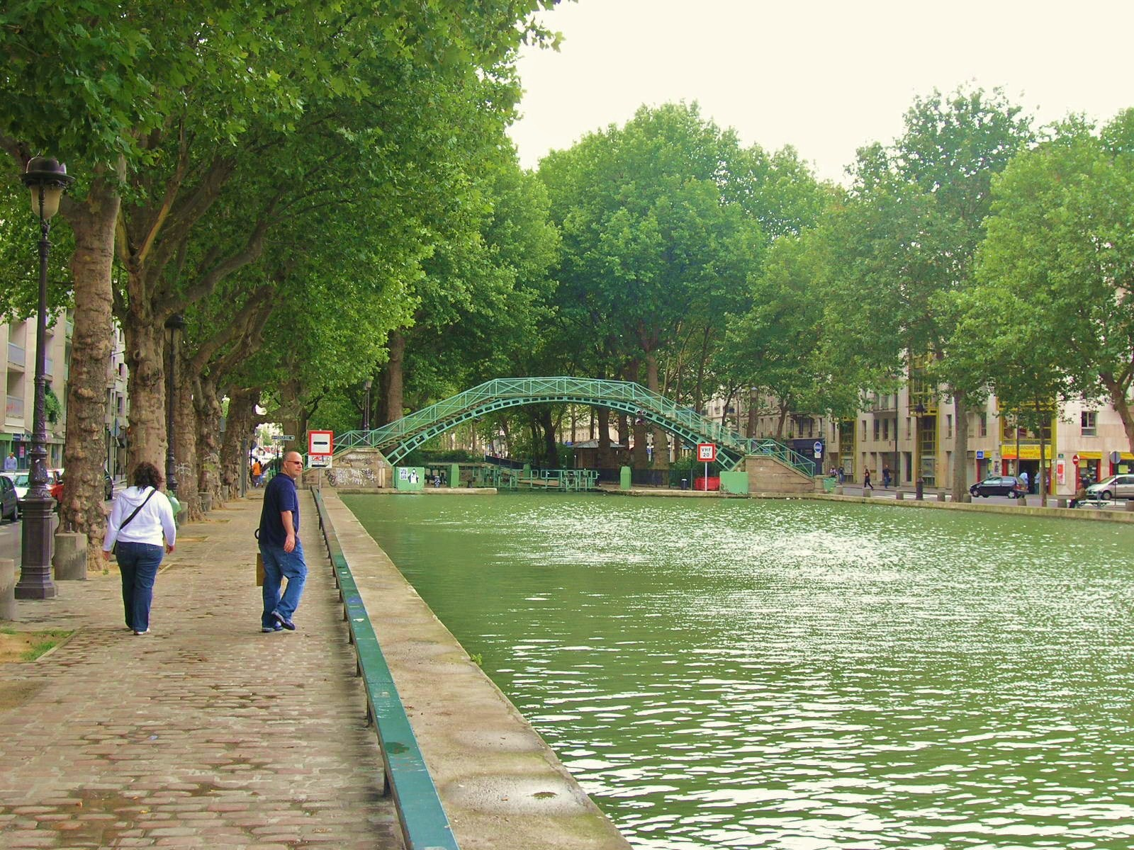 Sunday Paris Canal St. Martin.JPG