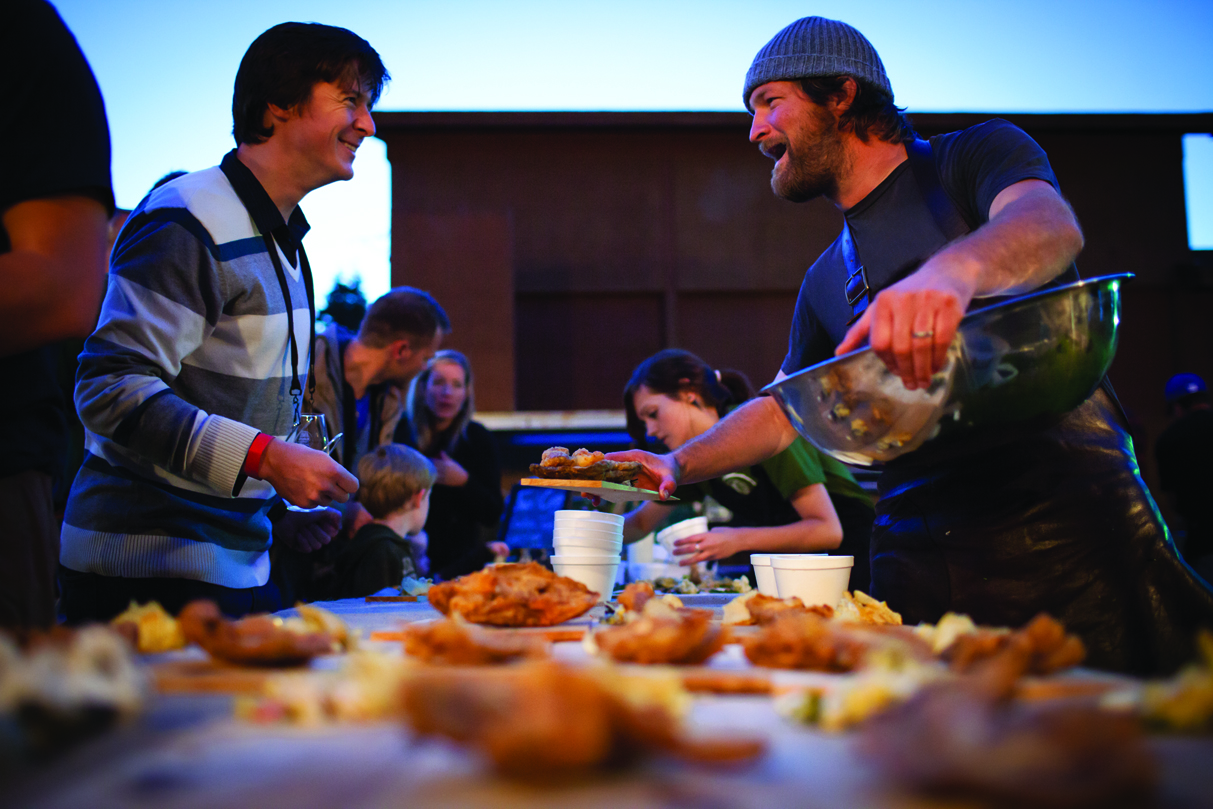 Chef Jeremy Charles at the King of Cod Event at Roots, Rants  Roars, Elliston, Eastern.jpg