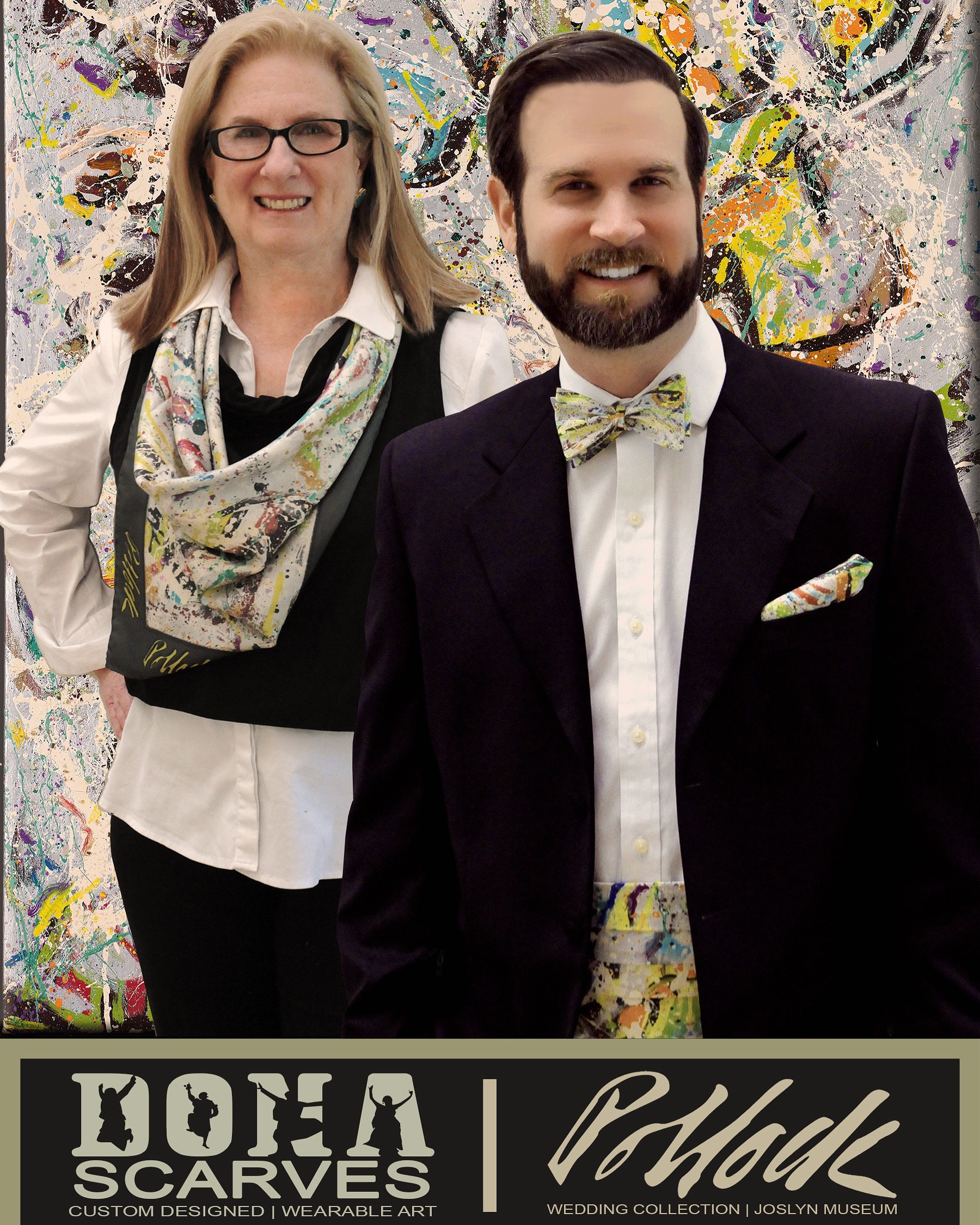 Joslyn Art Museum | Omaha, Nebraska | Jackson Pollock Wedding Collection -
